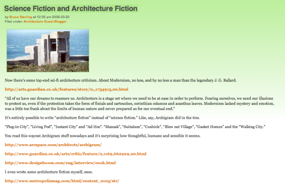 Architecture fiction — a short review of a young concept | HTC