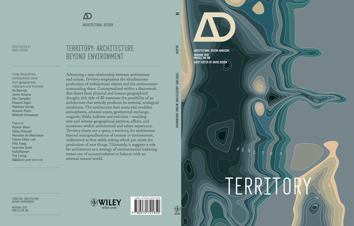 Ad Architecture territory: architecture beyond environment   news   archinect